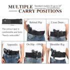 Band Holster Pouch Holster For 10 Year Factory Belly Band Holster With Magazine Pouch For Glock 17 Universal