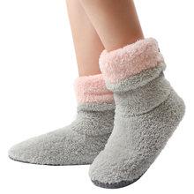 Меховые Туфли женские шлепанцы домашняя обувь зимние теплые носки женские плюшевые домашние тапочки пушистые Pantoufle Femme 2020(Китай)