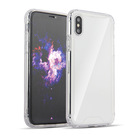 Anti Shock Clear Transparent Hard Shell Back TPU Bumper Phone Case for iPhone 11 X XS XR Pro Max Clear Shockproof Case