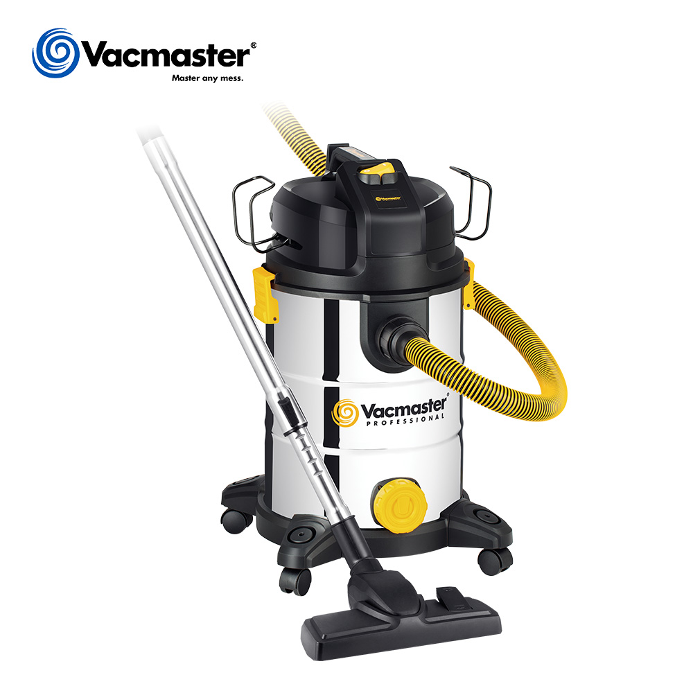 Vacmaster 220-240V 30L beast industrial vacuum <strong>cleaner</strong> with high suction power motor anti-crush hose for toughest jobs VKE1030SF