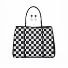 Handy Hand Bags Designer Handbags Shopping Bag Newest Handy Elegance Thermal Heat Transfer Print Beach Tote Designer Hand Purses Soft Shoulder Neoprene Shopping Bags Handbags