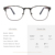 High quality metal stainless steel wooden temples optical glasses frames eyewear