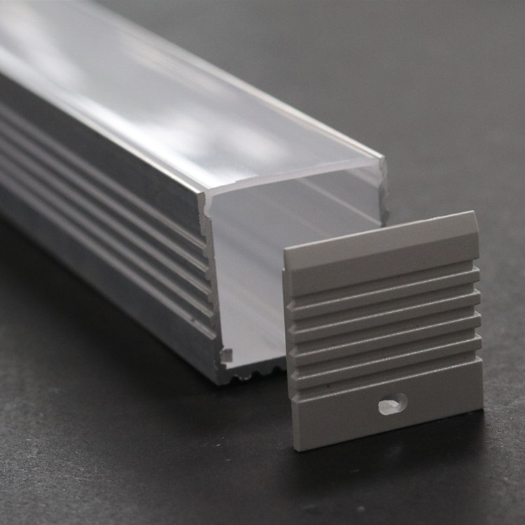 LvSen LS142 3535 Aluminum Profile For Led Profile Led Linear Lighting 6063 Aluminum Extrusion Profile