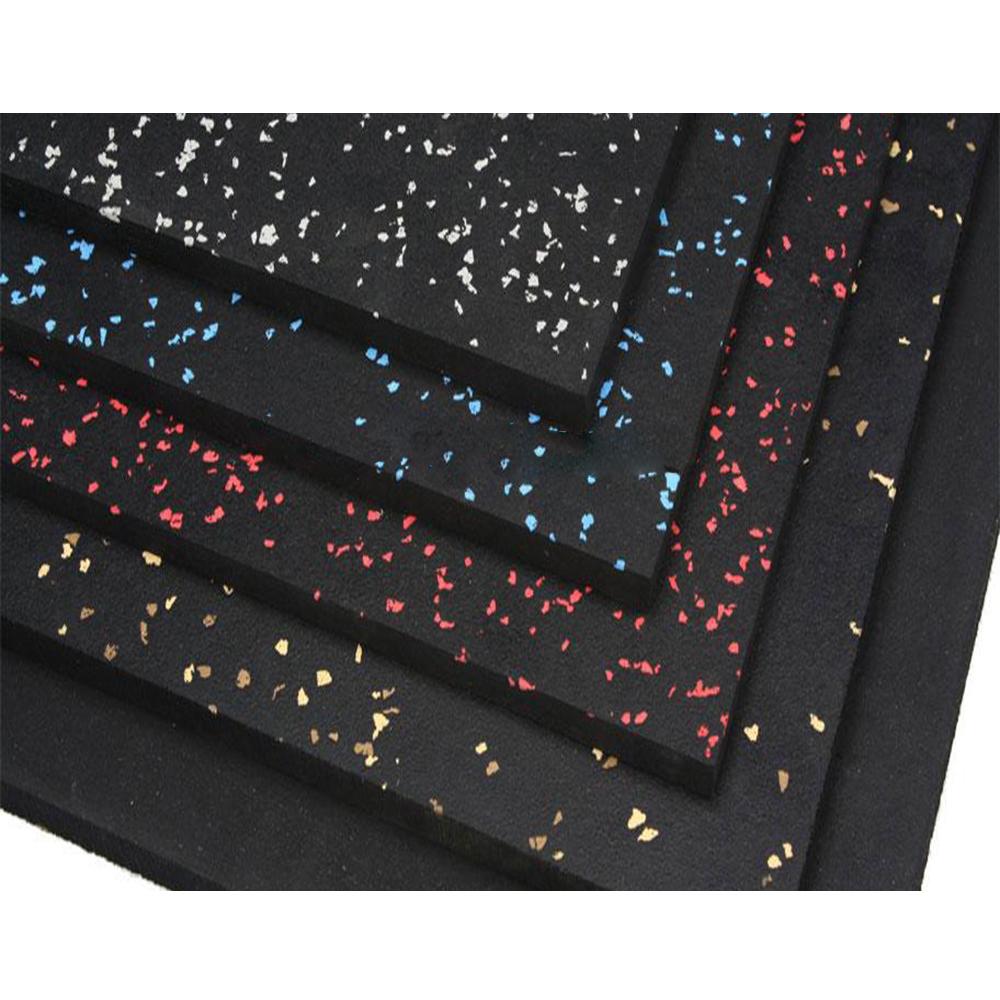 Anti-slip EPDM Gym Rubber Flooring Rolls Tiles/Sports Equipments Rubber Mat