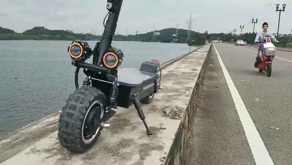 Nuevas llegadas 2020 amazon ruedas scooter Eléctrico Yeslaud 60v 20ah de la batería de litio para scooter Eléctrico 3000w