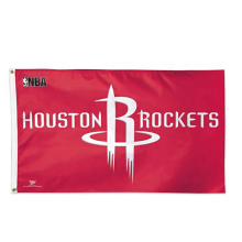 NBA Houston Rockets bayrağı Deluxe, 3x5 ayak