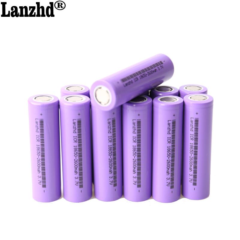De iones de litio de 18650 baterías recargables de 18650 de 3,7 v 5C 13A 2600mah 18650 batería de potencia para los cigarrillos electrónicos taladro eléctrico