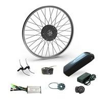 Factory Hot Sales 36v 500w electric bicycle parts/ ebike kit