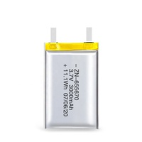 3.7v/7.4v 3000mah li lithium polymer battery 3.7v with 3000mah