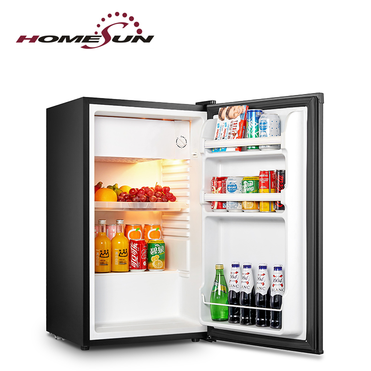 Silent no freon frost noise free cold drink price compact freezer cabinet mini bar fridge <strong>refrigerator</strong>