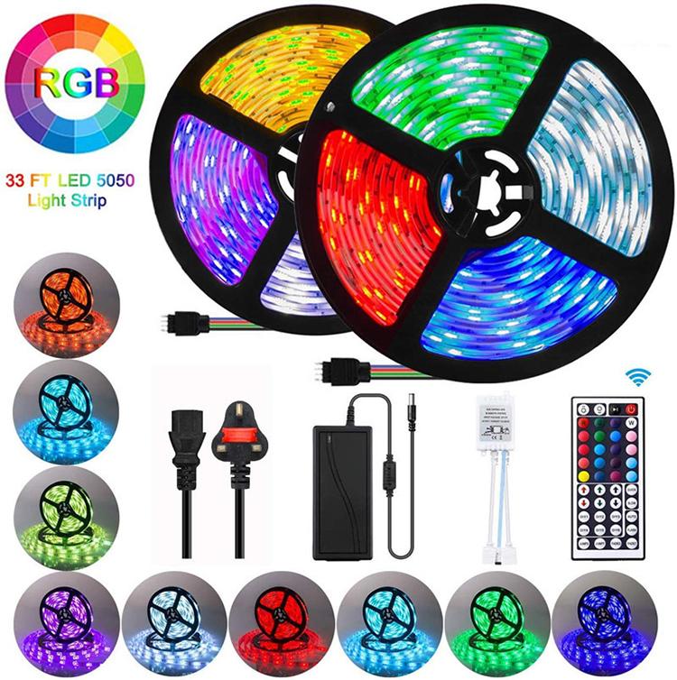 GTYJ5603 Decorative 5050 IR 12V Waterproof 5M 150LED 44 Key Remote Control 5050 RGB Led Strip Light