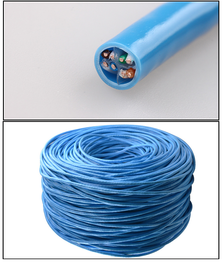 SIPU factory price cat6 utp cat6a cat5 cat5a network cable for ethernet good price lan cable supplier