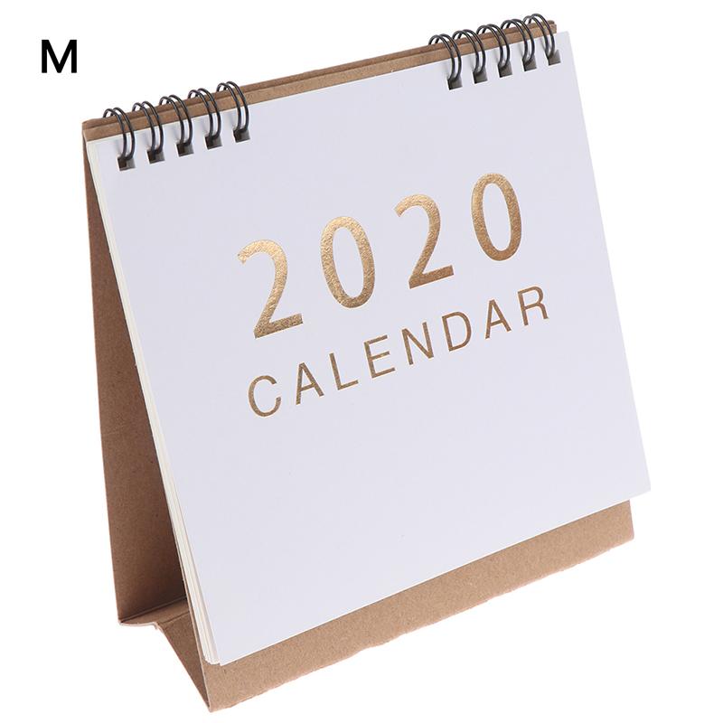 2020 календарь ежедневный планировщик расписаний Настольный календарь школьный планировщик Kawaii порядок дня стол(Китай)
