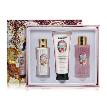 Skin care products face use anti wrinkle and whitening best rose skin care facial kits face cleaner face toner lotion