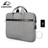 wholesale 15.6 inch polyester usb smart business shoulder computer laptop messenger briefcase bag charging laptop bags for men