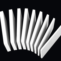 High Quality White Material PVC Vinyl Sheet Fascia Board