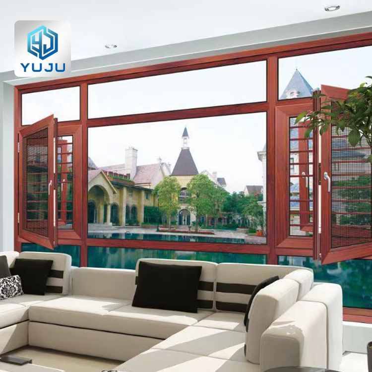european style aluminium casement windows design custom size 36 x 36 48 x 48 aluminum casement window manufacturers