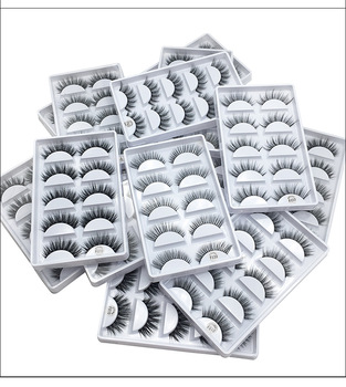 F810 F820 F830 F840 F850 G800 factory wholesale price 5model 5pairs Eye Lashes Natural false Eyelashes 5 pairs 3D mink eyelashes