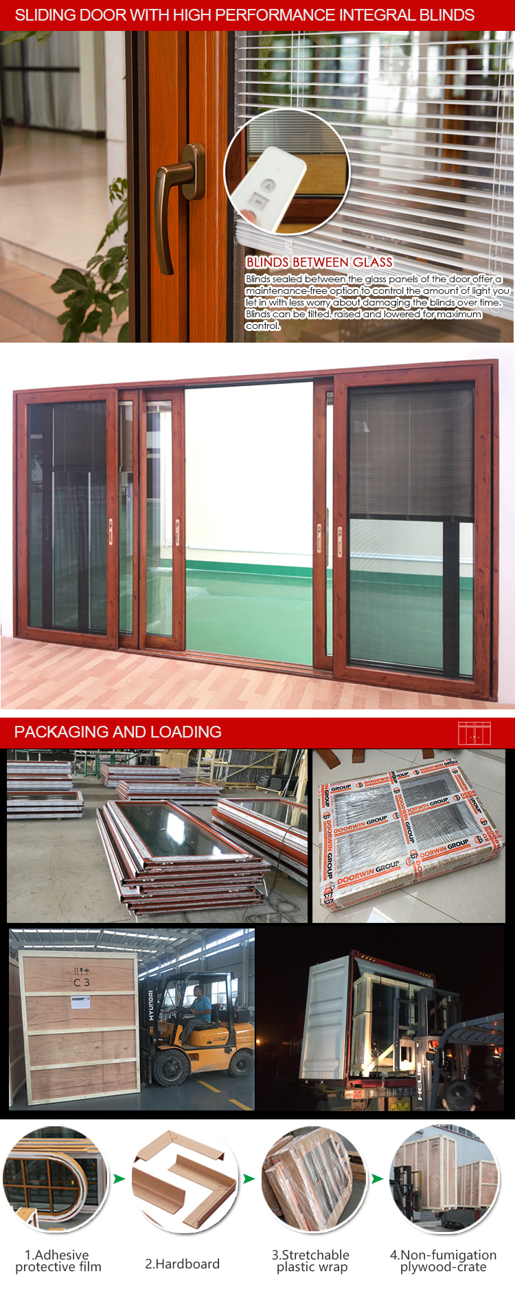 New hot selling products triple track sliding patio doors door hardware