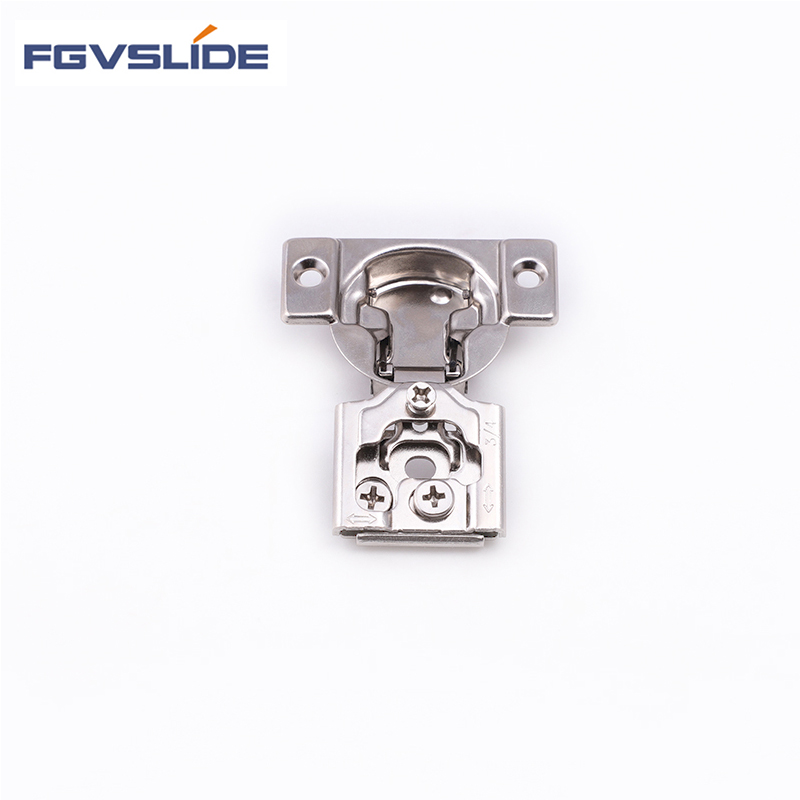 Promotion stock cabinet fittings 1/2'' face frame hinge with screws