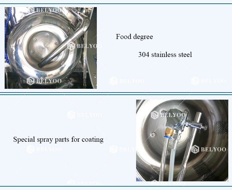 Best price flavor peanut coated candy panning equipment granule small chocolate sugar coating machine
