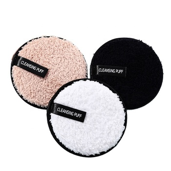 High quality washable  Magic bamboo makeup remover cotton pads for face