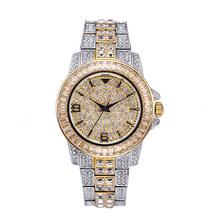 Новые часы MISSFOX с бриллиантами, женские часы с арабскими цифрами, стальной браслет, элегантные часы, роскошные брендовые часы высокого качес...(Китай)