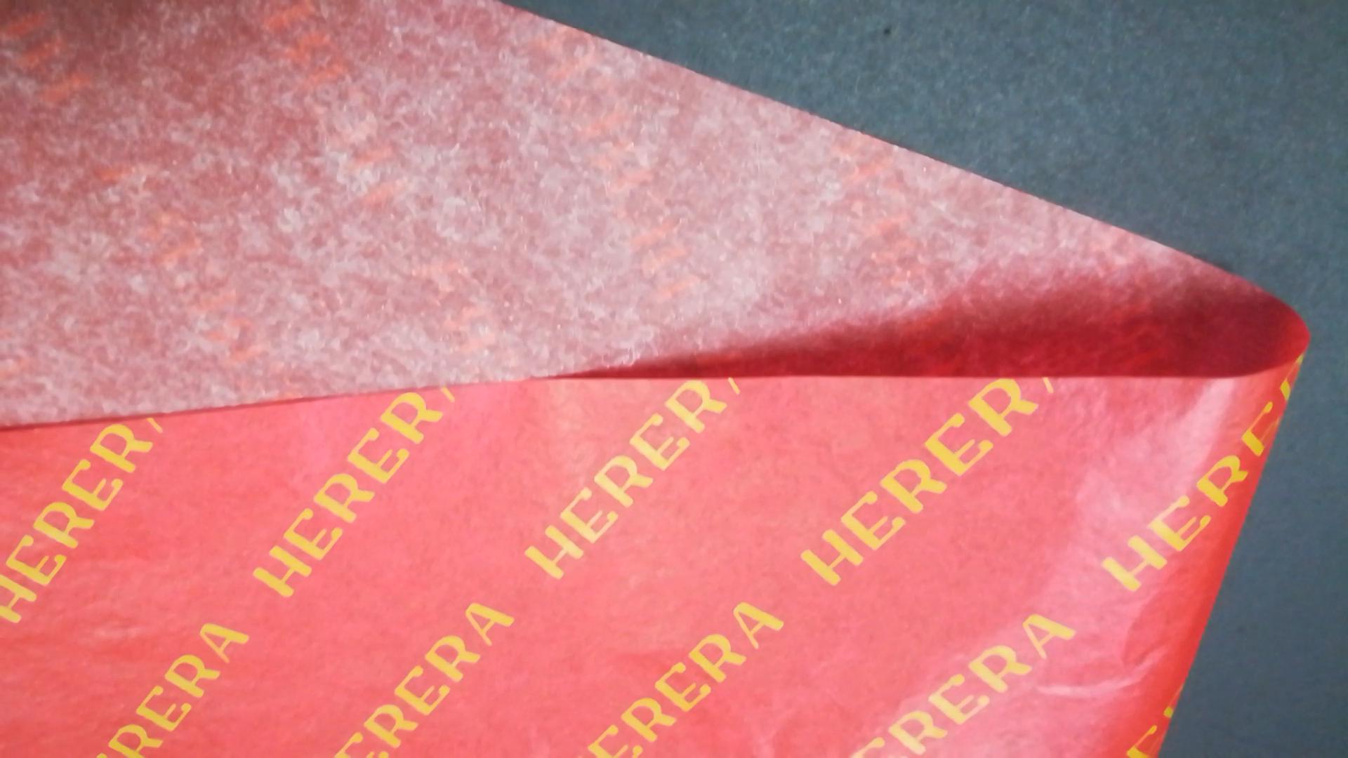 מותאם אישית מודפס לוגו עטיפת נעל תיבת רקמות נייר