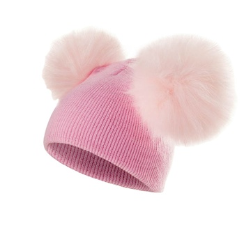 Zogifts 2019 Fashion Winter Hat Custom Baby Knitted Hats Cotton Baby Hat For Girls And Boys