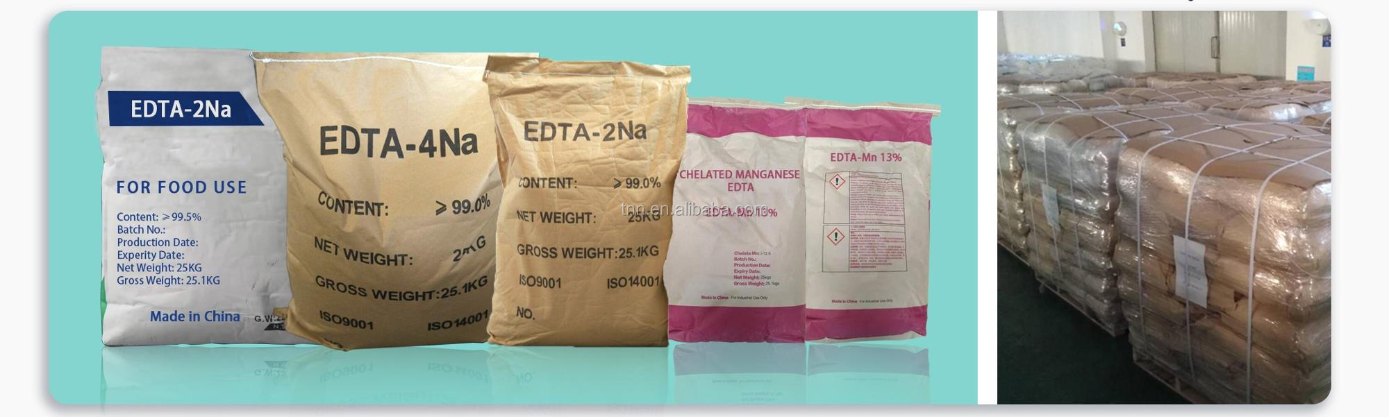 EDTA packages
