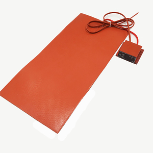 Silicone rubber 220v heating mat blanket with adjusted thermostat