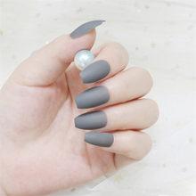 Острые поддельные ногти Длинные нажмите на ногти Ложные для пальцев шпилька белый Экстра Размер Nep Nagels с искусственной Ongle Adhesif(Китай)