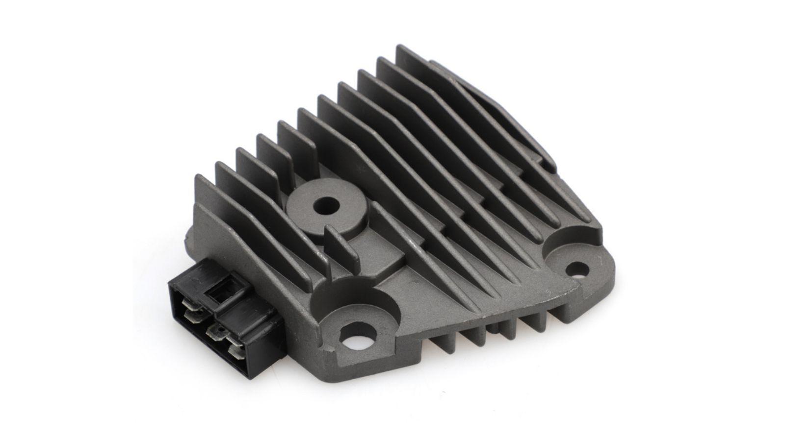 12V Motorcycle Voltage Regulator Stabilizer Rectifier 5 Pin Plug