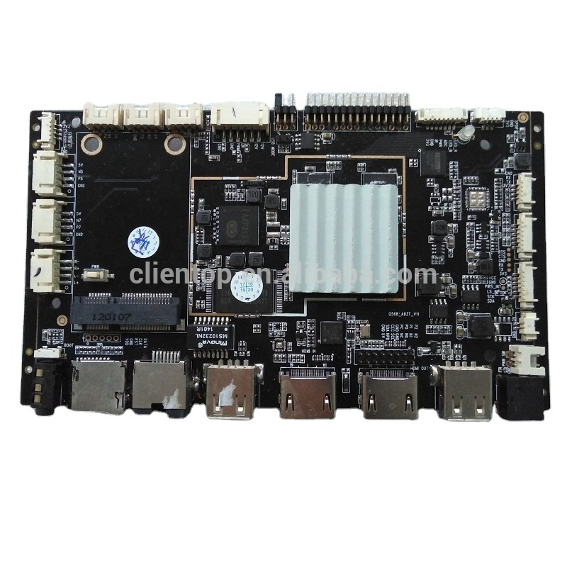 Q568 Wifi Network 3G/4G edp/lvds controller Android tablet motherboard advertising board