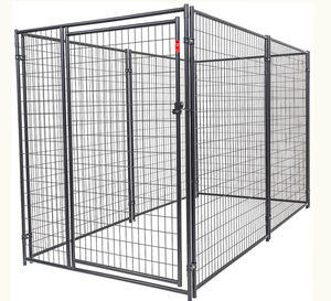 China High Quality metal dog cage 6' High run welded dog kennels and pet cage