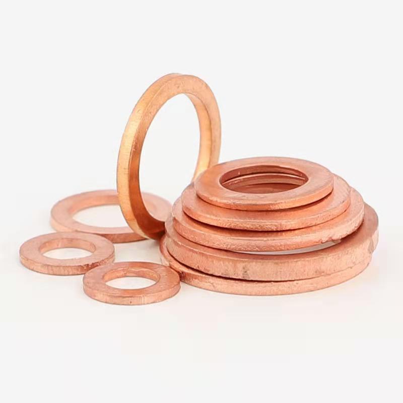 High quality copper lead flat washers