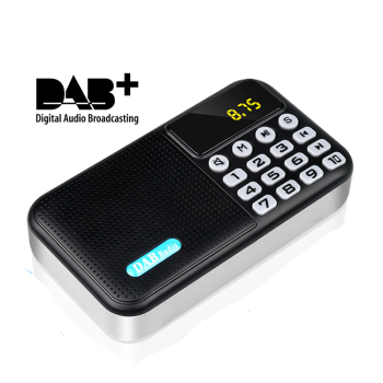 Portable radio DAB-P8 Mini DAB/DAB radio+ Digital Radio FM Receiver 3W Bluetooth Speaker TF Card U Disk MP3 Music Player