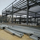 Anti-corrosion steel structure warehouse framework strucutral h beam column rigid frame Prefabricated Steel Building
