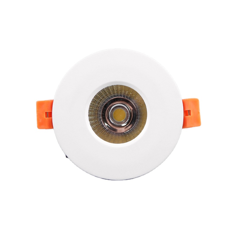 80Ra 3W Ip65 62Mm Cut Out waterproof Lighting Led Can Lights For Showers Stall Trim Bathrooms