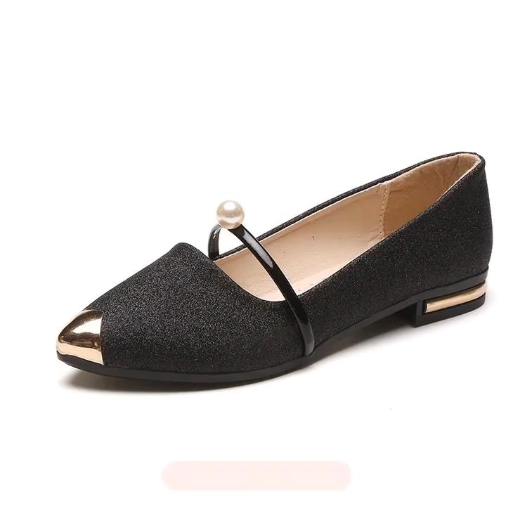 סיטונאי גבירותיי אופנה מקרית סניקרס עור עמיד למים עבה תחתון קטן לבן נעליים