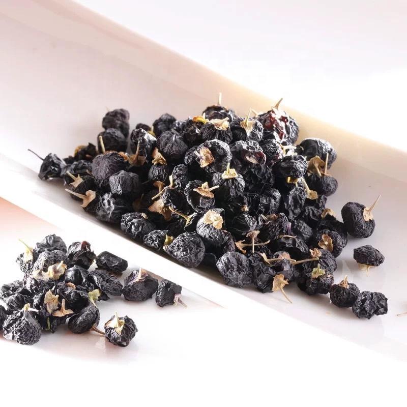 Black Wolfberry Ningxia Dried Black Chinese Wolfberry Black Goji Berry Wolfberry - 4uTea   4uTea.com