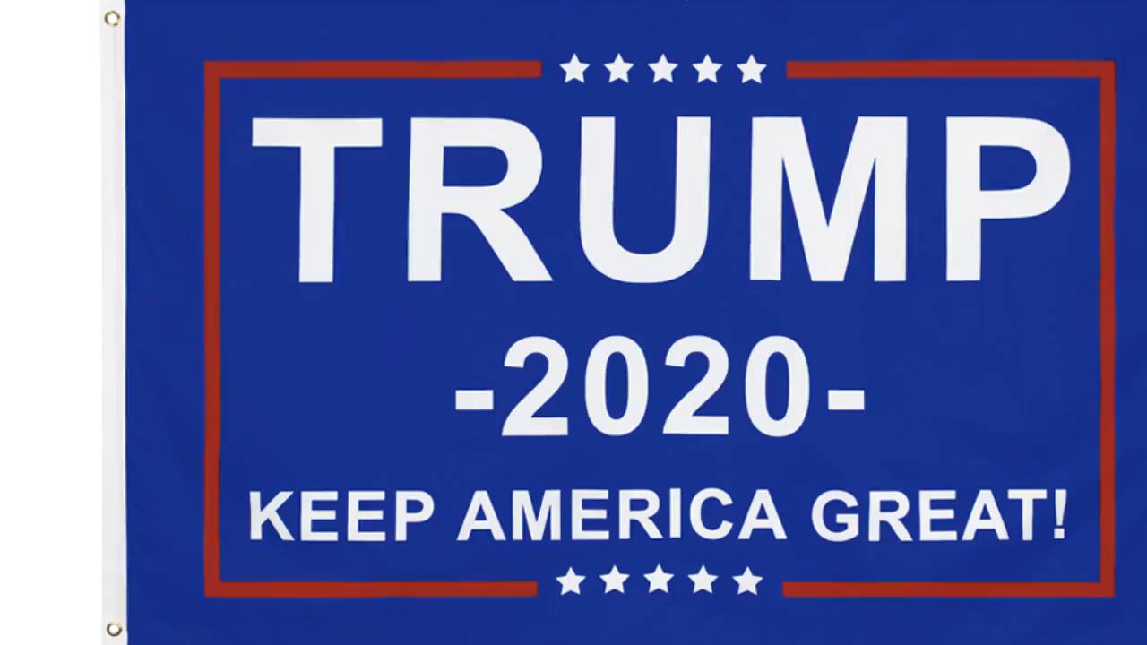 Hotsale Custom Stampato Nuovo Poliestere A Buon Mercato Trump 2020 Tenere In America Grande Trasporto Veloce 3x5 Piedi MAGA Trump Bandiera banner