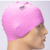 Wholesale customized logo waterproof silicone swimming caps solid silicone swim cap