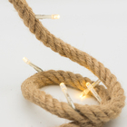 Battery operated led lighting - 20L Jute Rope fancy led lights home decoration