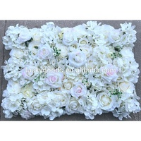 LFB844 Artificial carpet event flower panel wedding decoration silk floral wall wholesale