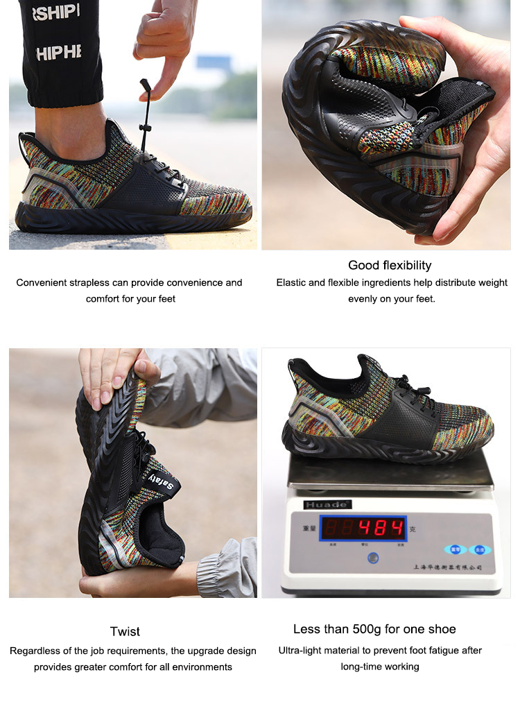 TZLBX-160 Hot selling comfortable safety shoes	men safety shoes lightweight men's steel toe safety shoes