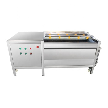 Industry SUS304 Brush Roller Potato Peeling Machine Carrot Peeling Machine Cassava Peeling Machine for Factory