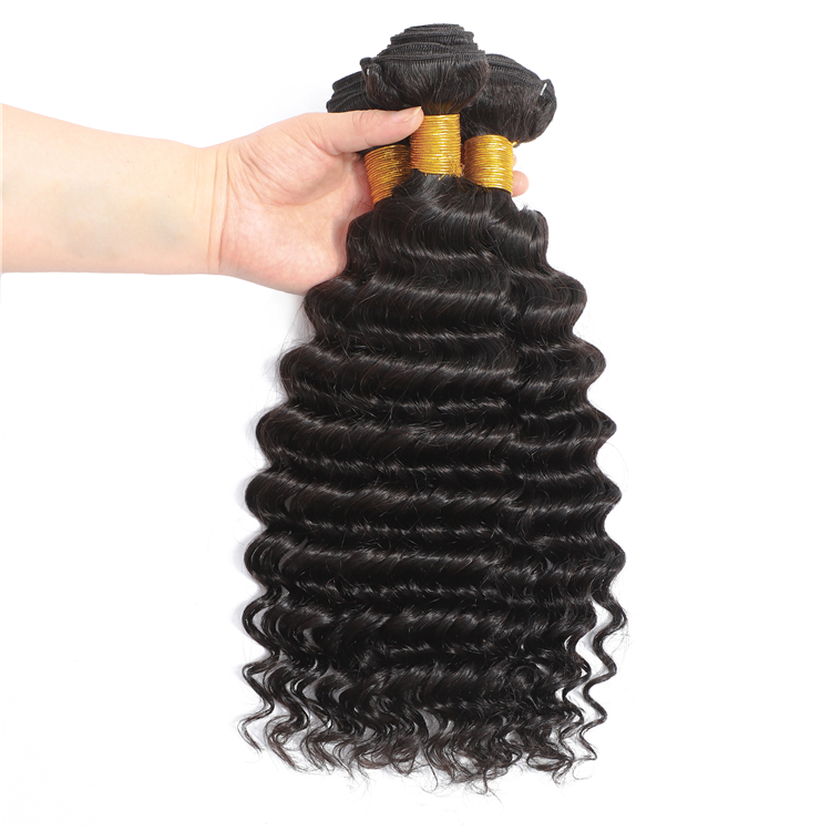 100% Human Virgin Brazilian Deep Wave Human HairBrazilian Deep Wave Human <strong>Hair</strong> <strong>Weave</strong>