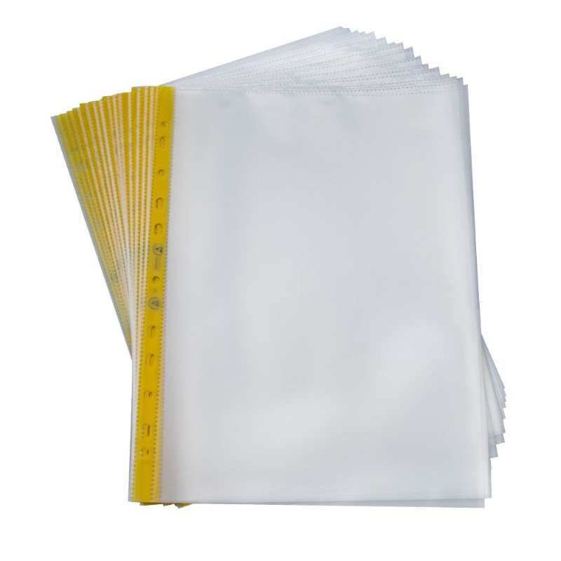 Anti-static Sheet Protectors A4/Letter Size Heavy Duty Clear Sheet Protectors Page Top Loading Plastic Sleeves for Binders