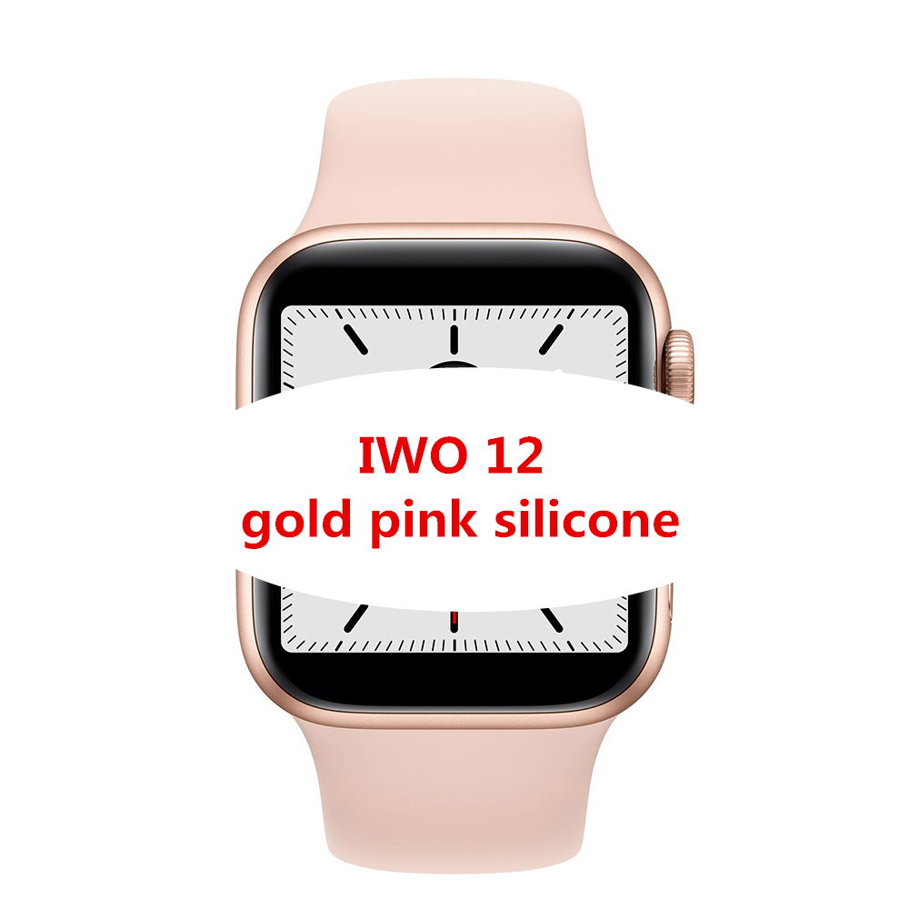 IWO 12 스마트 시계 44mm 40mm 시계 5 W55 SmartWatch 원격 제어 siri 시계 아이폰 안드로이드 전화 PK IWO7 8 9 10 11 W34 W54